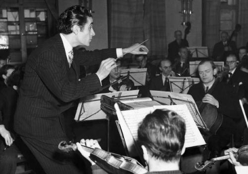 Sergiu Celibidache și Berliner Philharmoniker - 1945